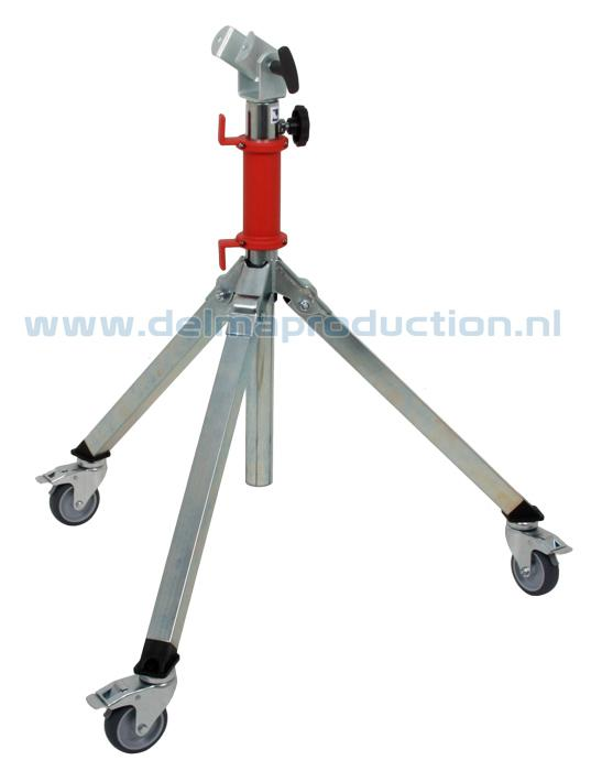 Tripod worklight stand 2-part Midi, mobile, for OPUS worklights