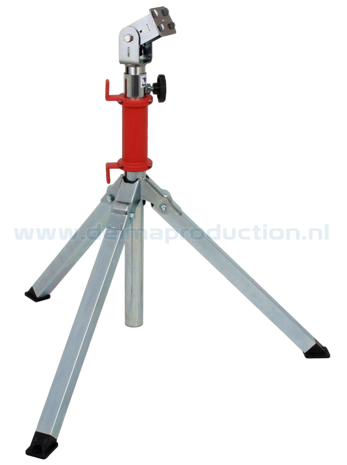 Bau-Teleskop-Stativ 2-teilig Midi, Quick Release System
