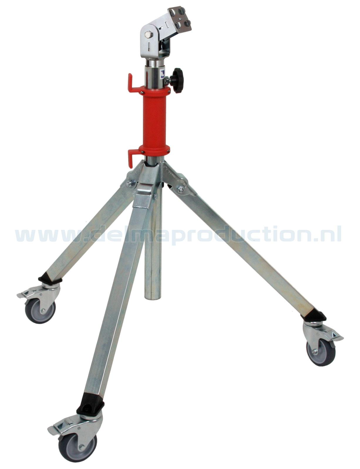 Tripod worklight stand 2-part Midi, mobile, quick release system