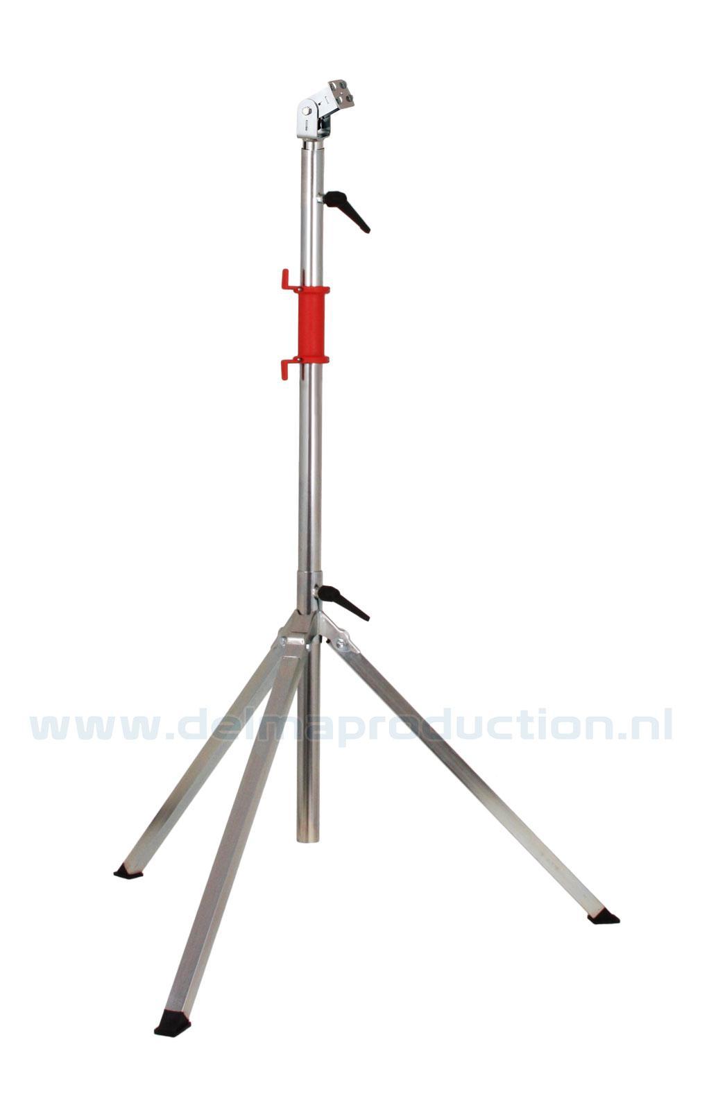 Bau-Teleskop-Stativ 3-teilig, Quick Release System