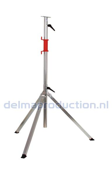 3-Teilig Baulamp Stativ, mit Strip + M8 Mutter  (1)