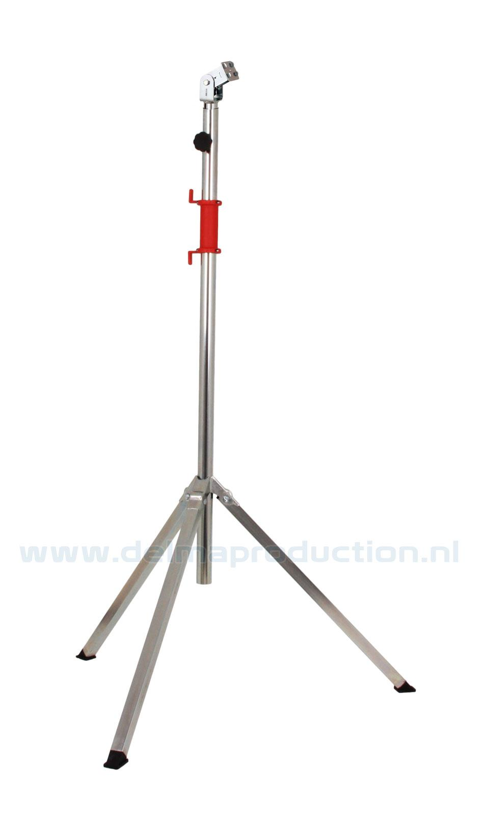 Tripod worklight stand 2-part, quick release system
