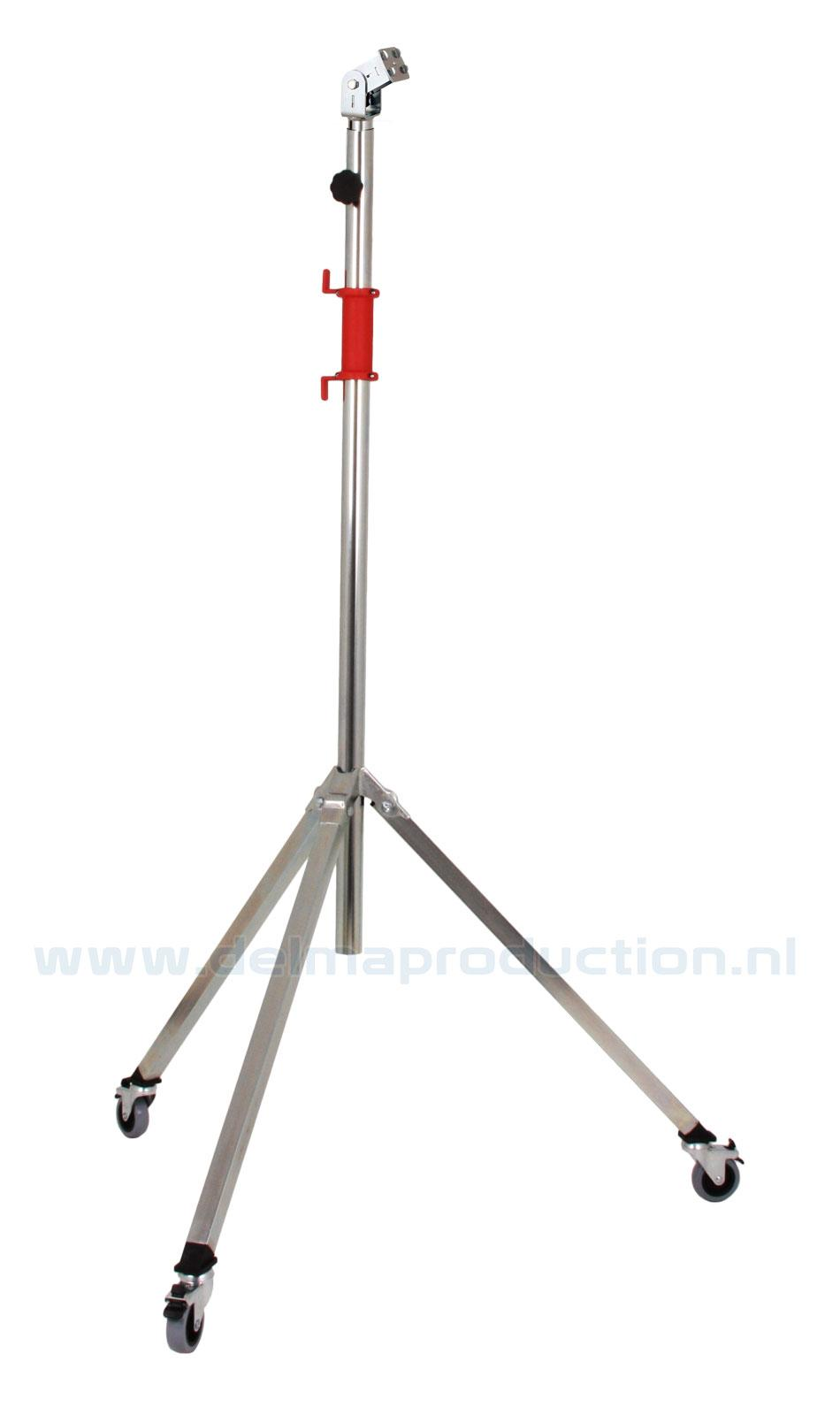 Tripod worklight stand 2-part, mobile, quick release system