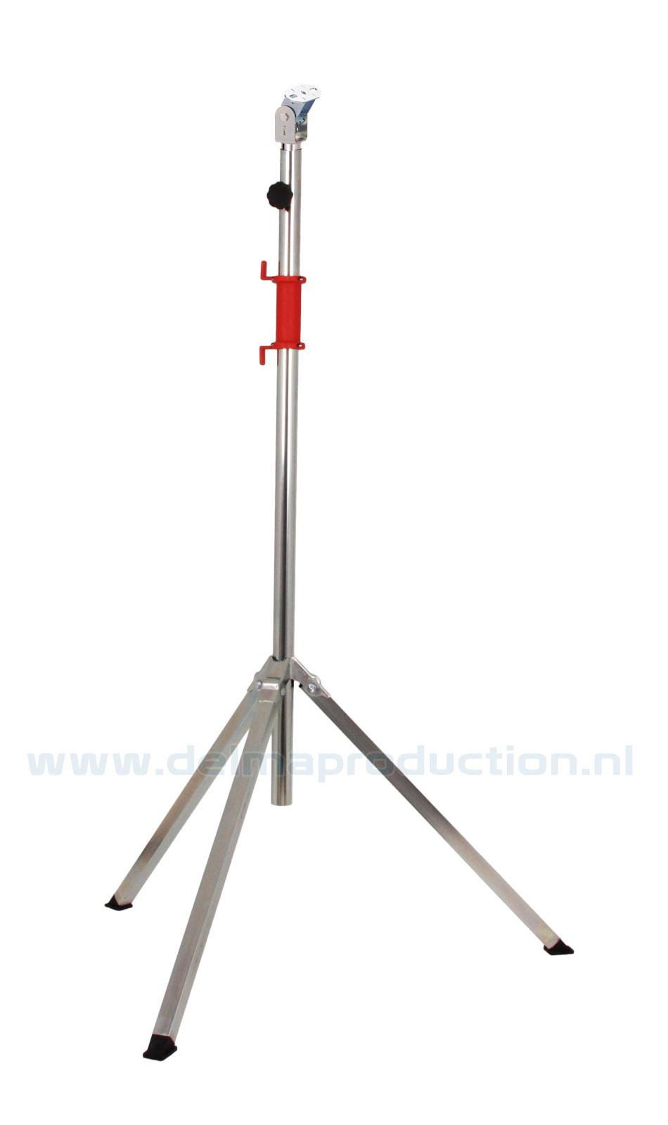 Bau-Teleskop-Stativ 2-teilig, Schnellverstellung