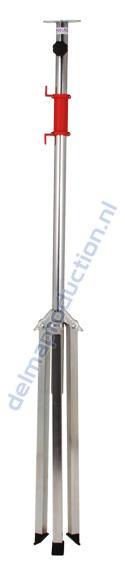 2-Teilig Fahrbar Baulamp Stativ, mit Strip + M8 Mutter  (4)