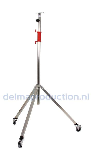 2-parts mobile tripod stand, with braket + M8 nut  (1)