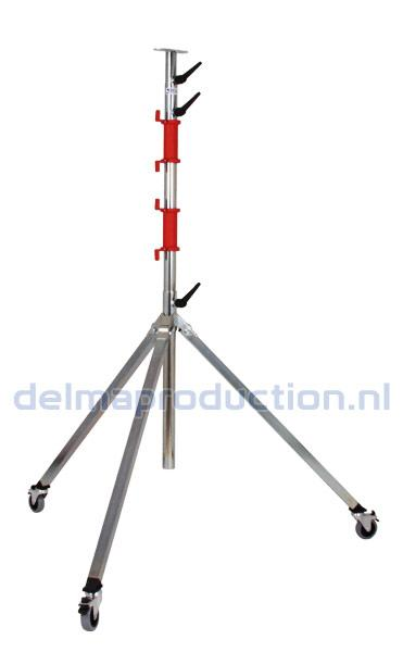Tripod worklight stand 4-part, mobile (1)