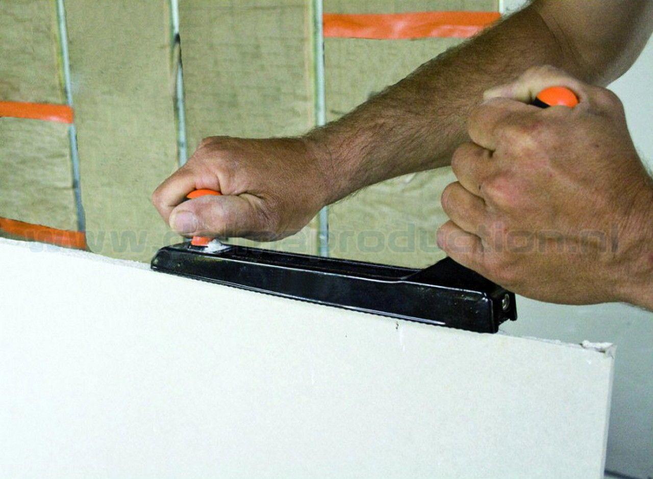 Gipsplaten en hout rasp (2)