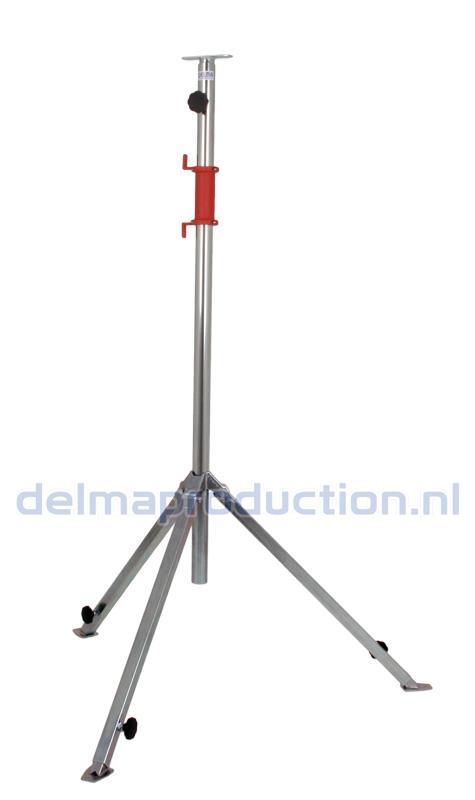 Bau-Teleskop-Stativ 2-teilig, verstellbares Fußgestell