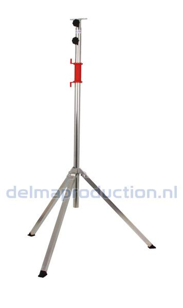 Tripod worklight stand 2-part, quick release long strip
