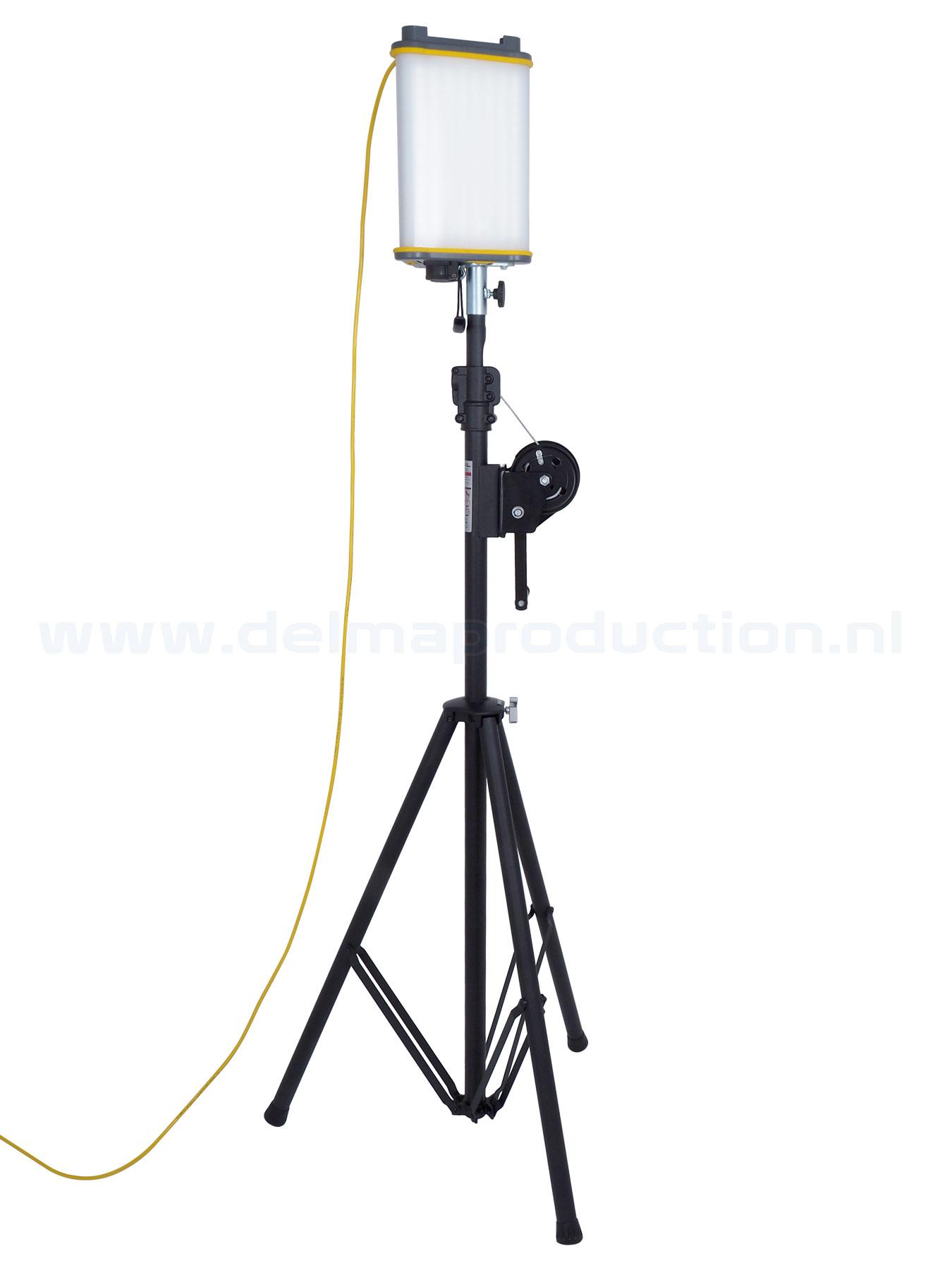 Bevestigingssteun driehoek 360° LED werklamp (3)