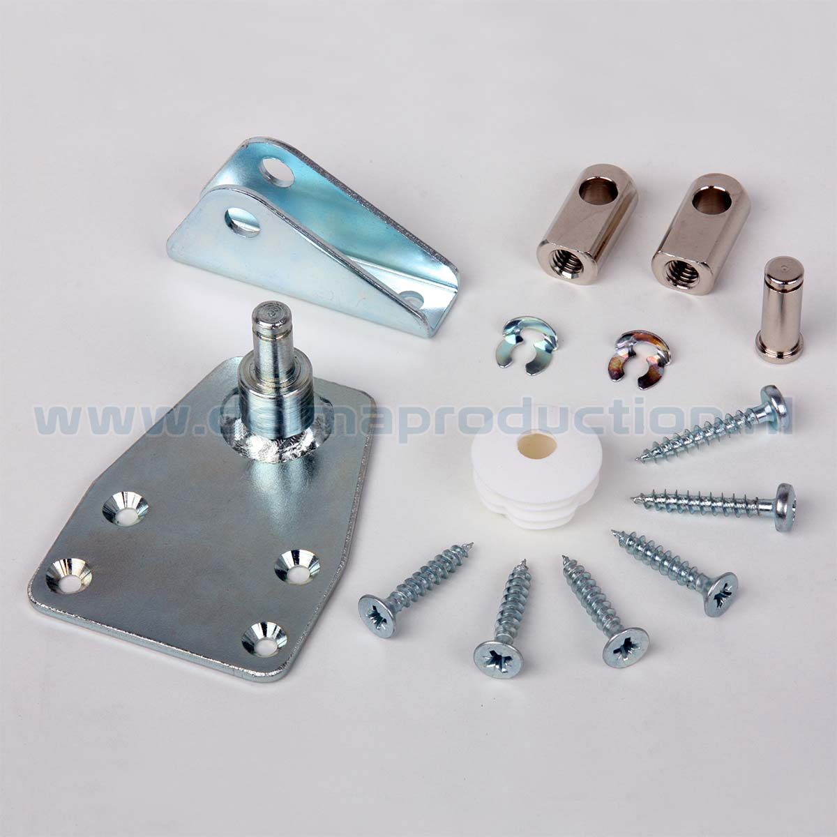 Door Damper Mounting set