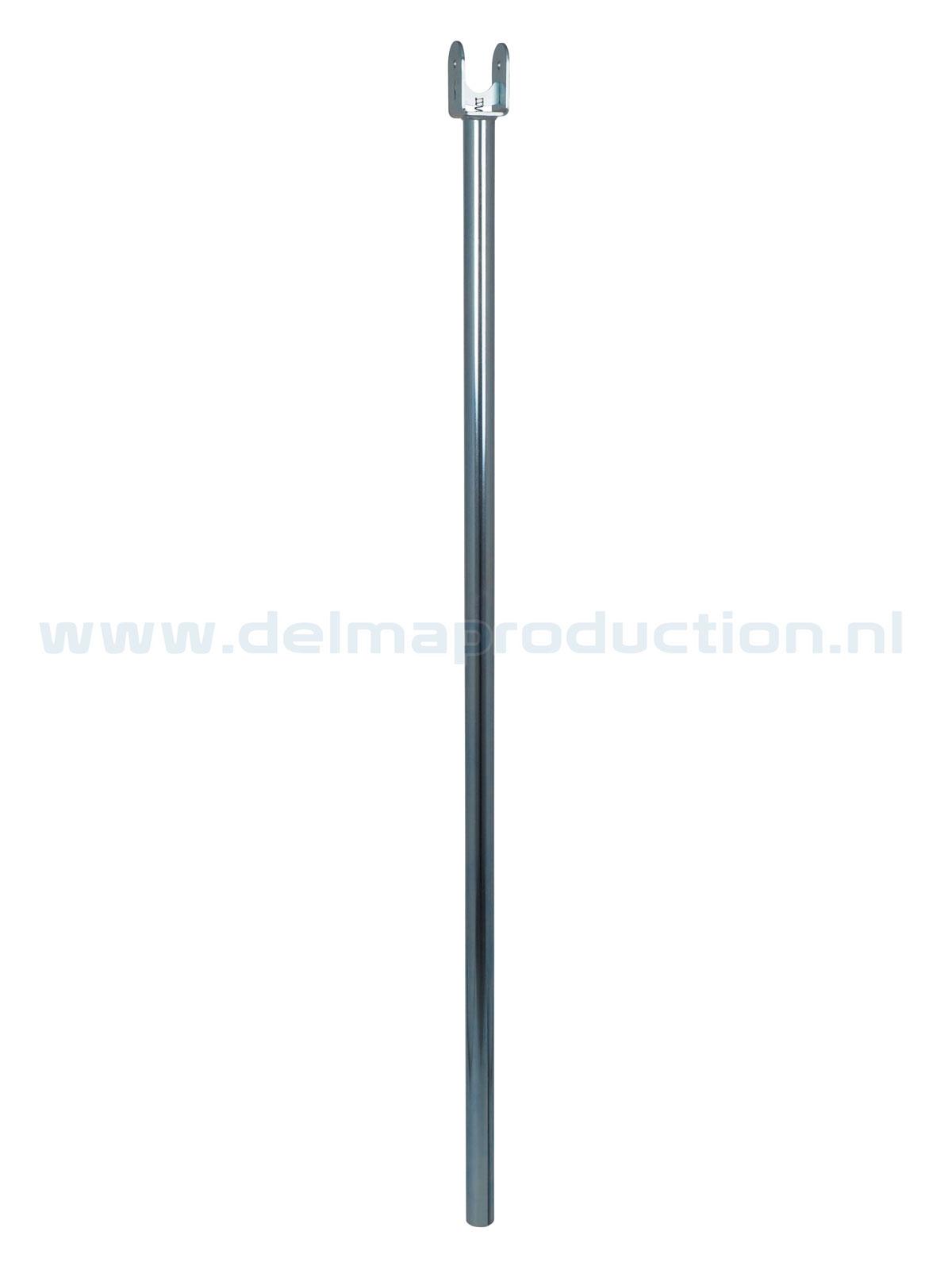 Binnenbuis statief 1,2 m Ø 30 met Quick Release aansluiting