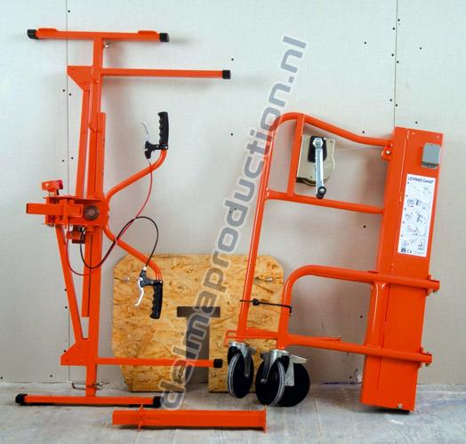 Drywall Panel lift, Manual Combi-005 (2)