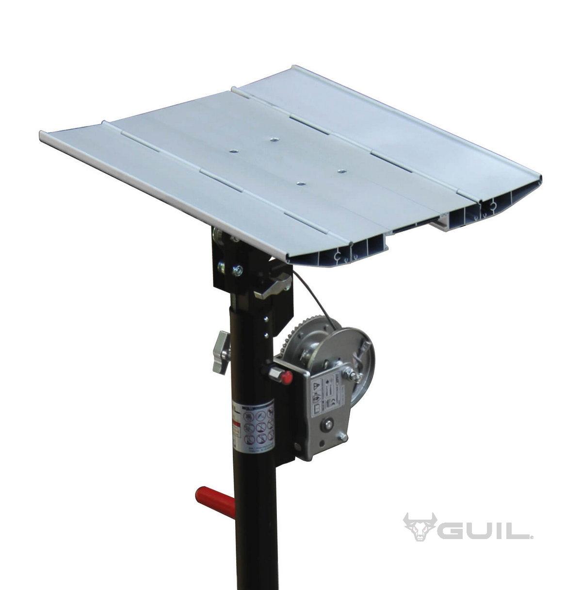 Platform aluminium (450x435) ELC-720,730,750,760 (dutch) (1)