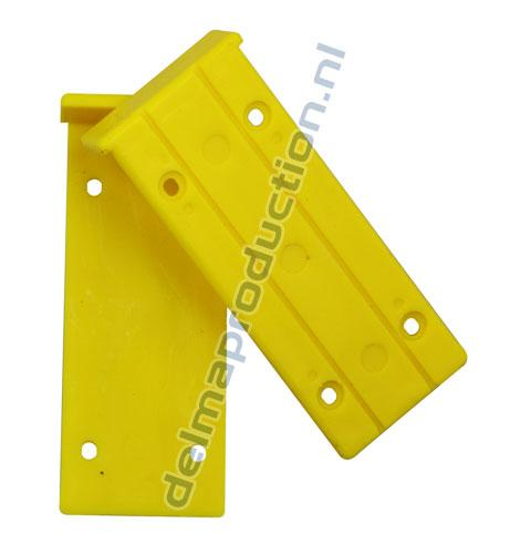 Yellow plates using for Door Clamp 0089