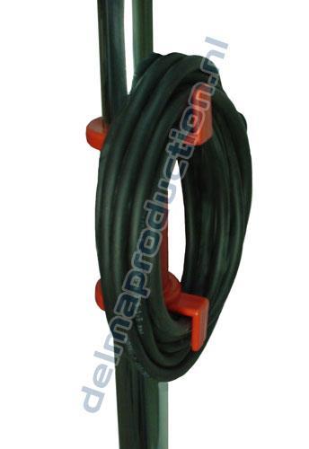 3-Teilig Fahrbar Baulamp Stativ, mit Strip + M8 Mutter  (2)