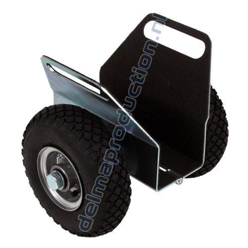 Klemmwagen mit Schwerlas Lufträder (1)