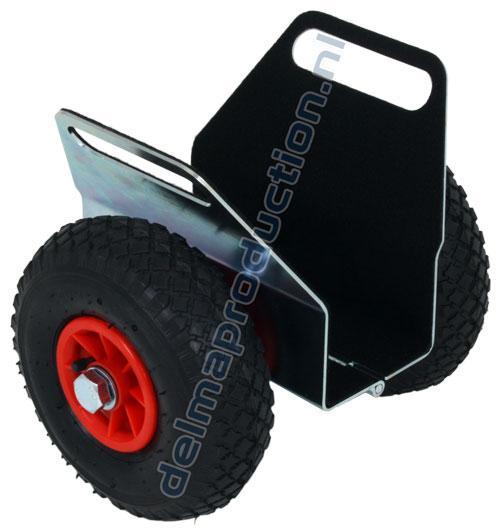 Platenklemwagen luchtbandwiel 250 kg (1)