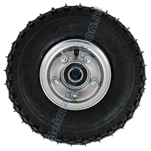 Wagenrad 6 PR. (mit Stahl Felge) für Delma Handycar