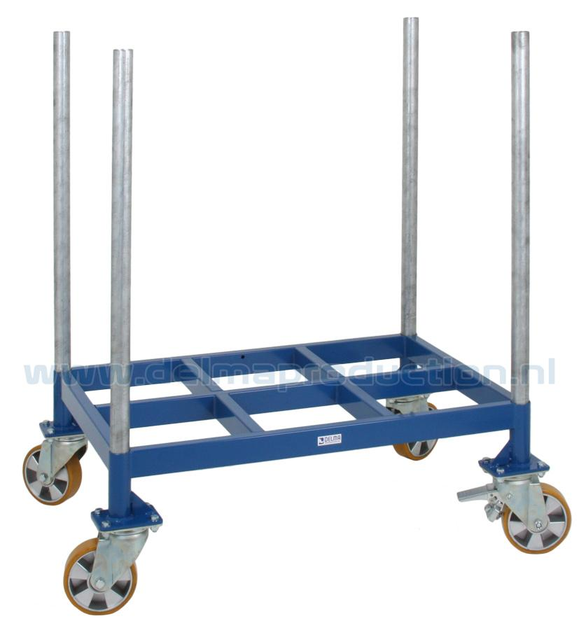 Material transport trolley (1)