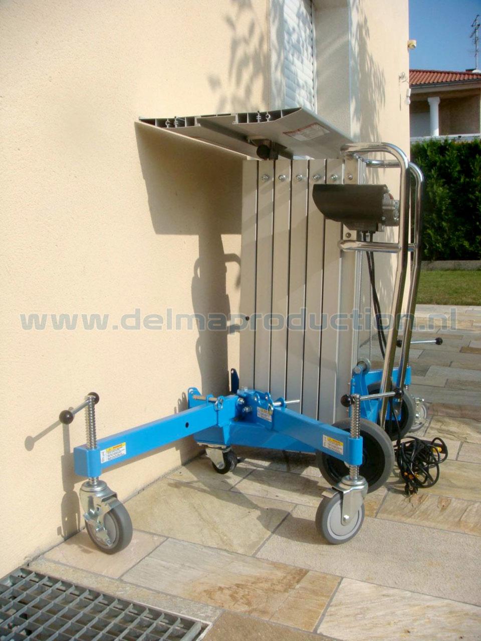 Montagelift elektrisch 4 m 150 kg (2)