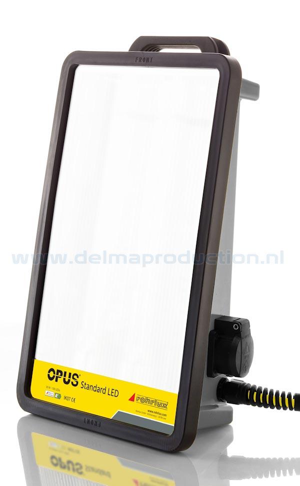 Opus Standard LED Arbeits Leuchte  Lichtstrom4600 Lumen Abstrahlwinkel120° Lichtfarbe4000 K Stromverbrauch50 W Steckdoseoptional Netzschalternein Anschlussspannung220-240 V AC Abmessungen445 x 285 x 150 mm Gewicht3,3 kg Schlagfest gemäßIK 07 SchutzartIP 54 und IP 64  (1)