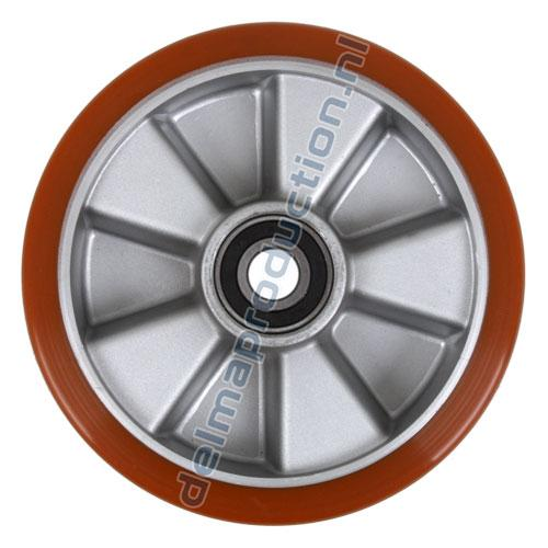 Polyurethane wheel for Delma Panel and Trolley carts
