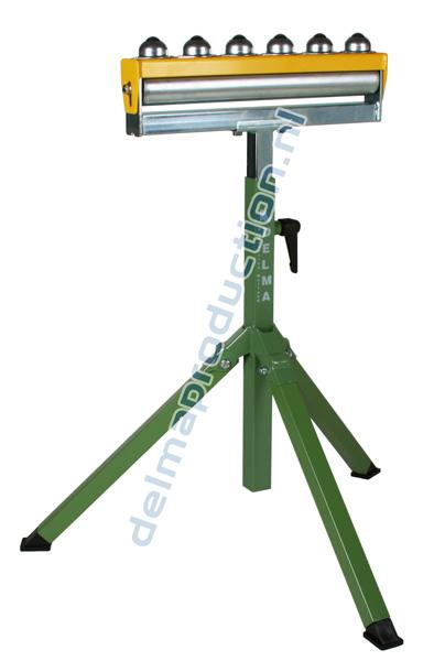 Roller Stand - Combined Available with steel roller, plastic roller or steel plastic coated roller. 