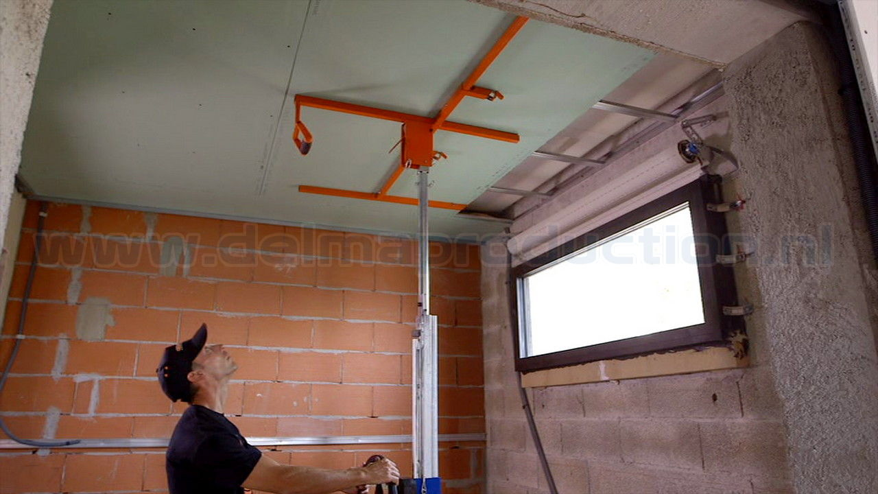 Drywall panel lift, SEA-450 semi automatic (8)