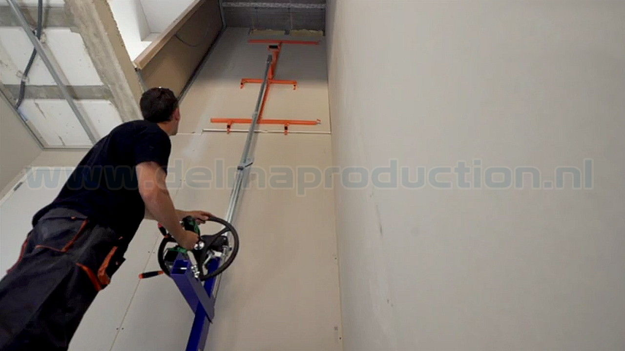 Drywall panel lift, SEA-450 semi automatic (11)