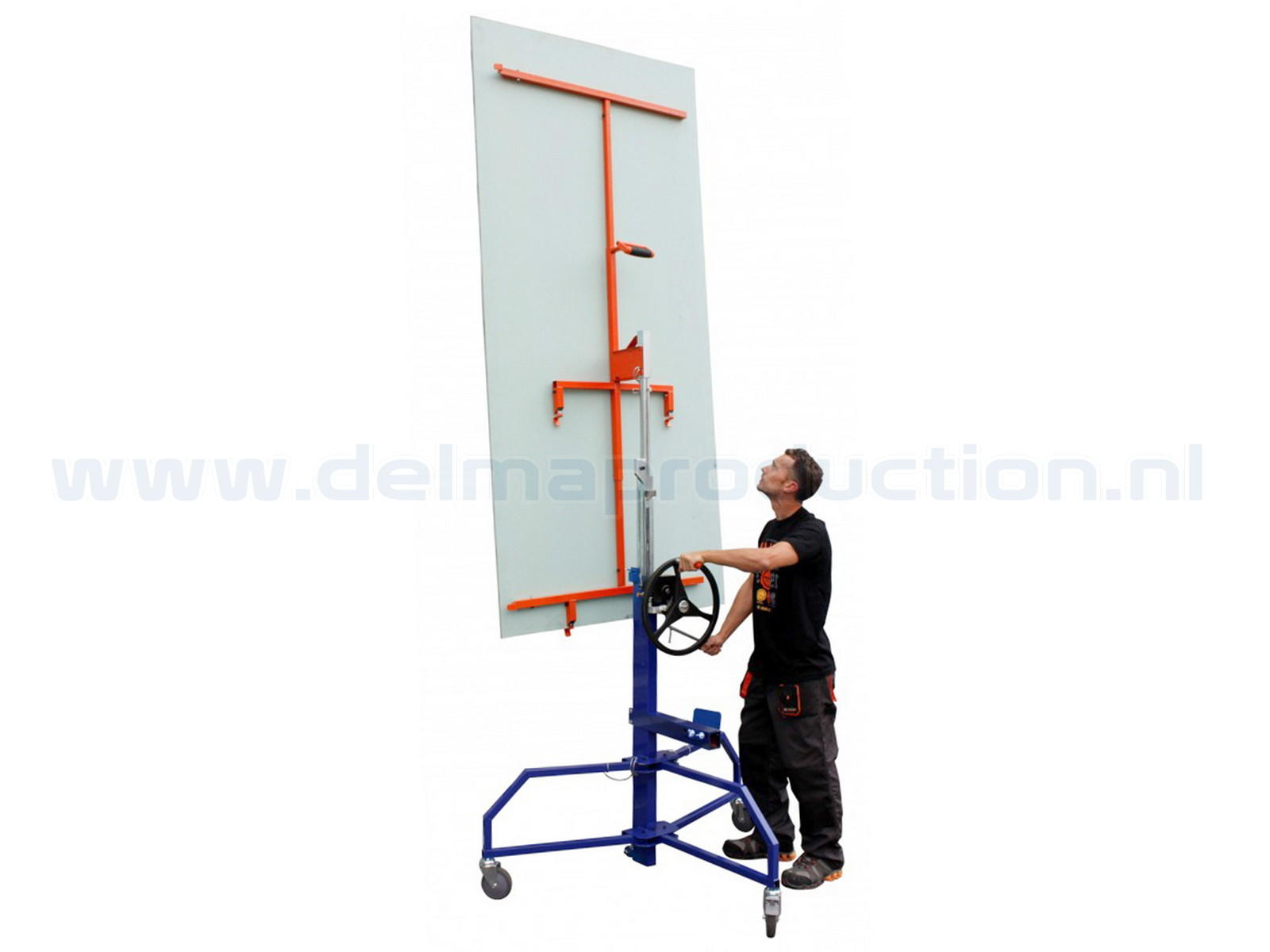 Drywall panel lift, SEA-450 semi automatic (3)