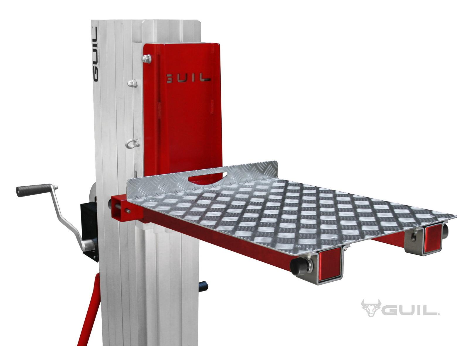 Aluminium platform TORO A, B, C en D (dutch) (1)