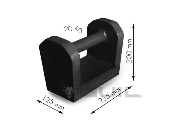 Contragewicht 20 kg TORO B, C en D (dutch)