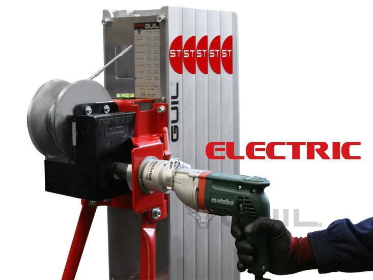 Elektrische aandrijving TORO B