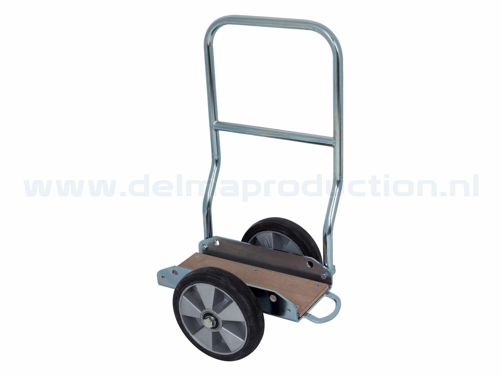 Zwaarlast transportwagen met duwbeugel (1250 kg)