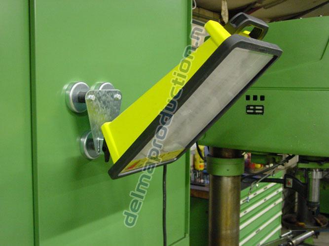 Magnet holder with wiring holder Opus Standard (tilt) (2)