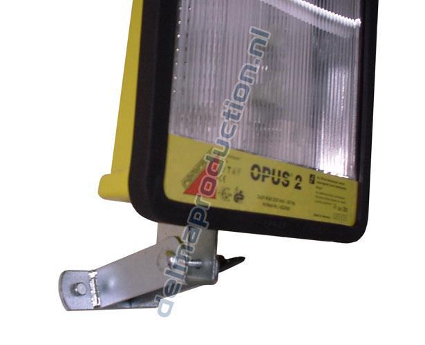 Wandsteun kiep voor OPUS werklampen