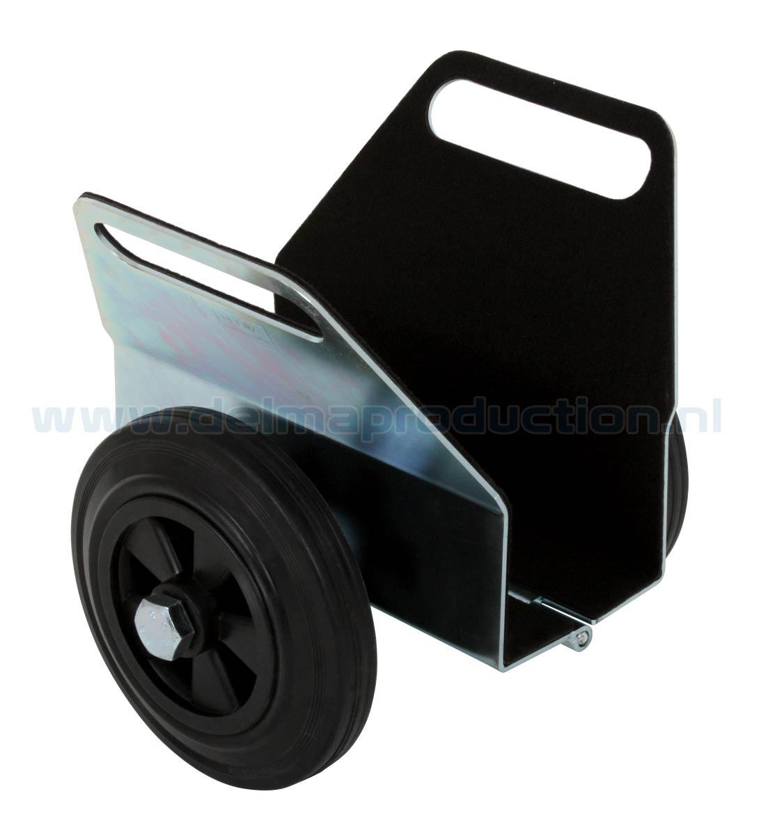 Platenklemwagen rubberband 400 kg (1)