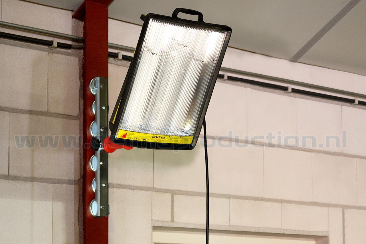 Magneetsteun 6 magneten voor OPUS Werklampen (2)