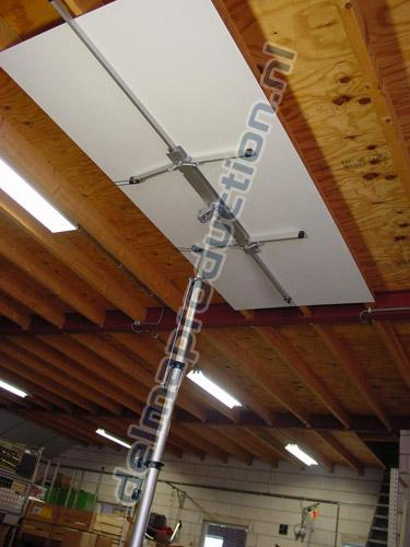 Drywall Panel Lift Electric DED-340 (4)